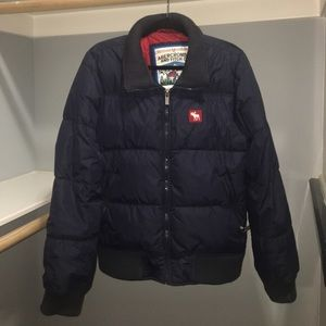 Men's Abercrombie & Fitch Down Puffer Jacket